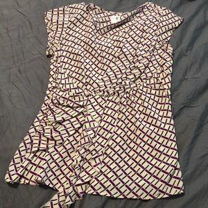 Anthropologie silk blouse in like new condition